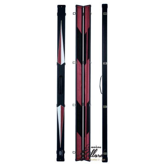 Mallette Simili-cuir Rouge et noir