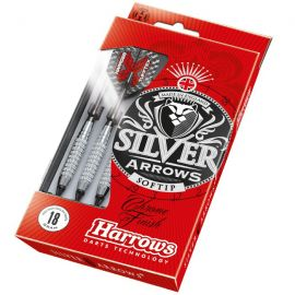 Fléchettes nylon Silver Arrow 16 GR