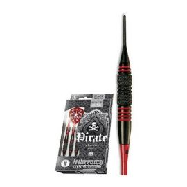 Fléchette nylon pirate 16GK Rouge