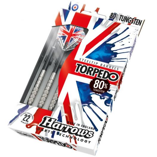 Fléchettes harrows acier Torpedo 70% tung 22 GK1