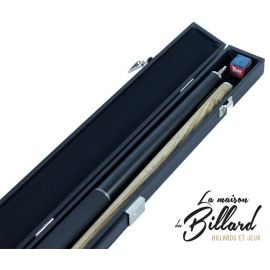 Coffret Queue billard design noire