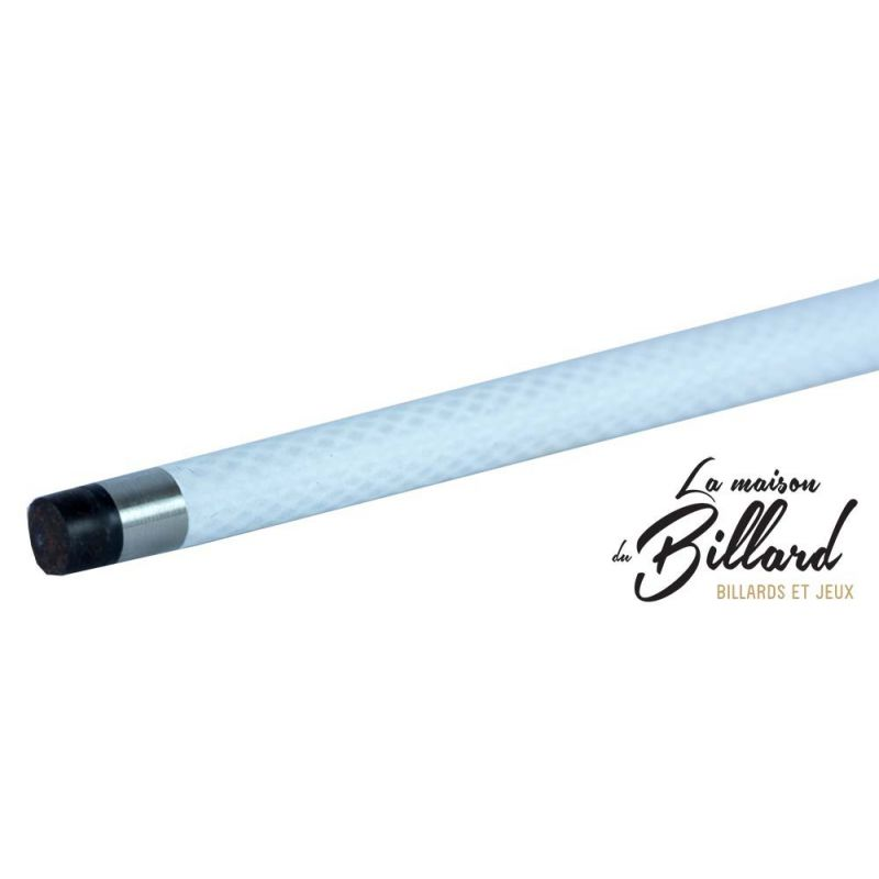 Queue de billard en fibre Gramax Blanc