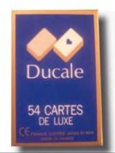 jeu de cartes classique Ducale