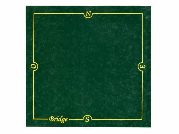 Tapis de bridge Vert