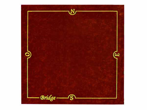 Tapis de bridge Bordeaux