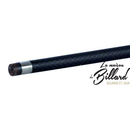Queue style carbone noir gramax démontable  en 2