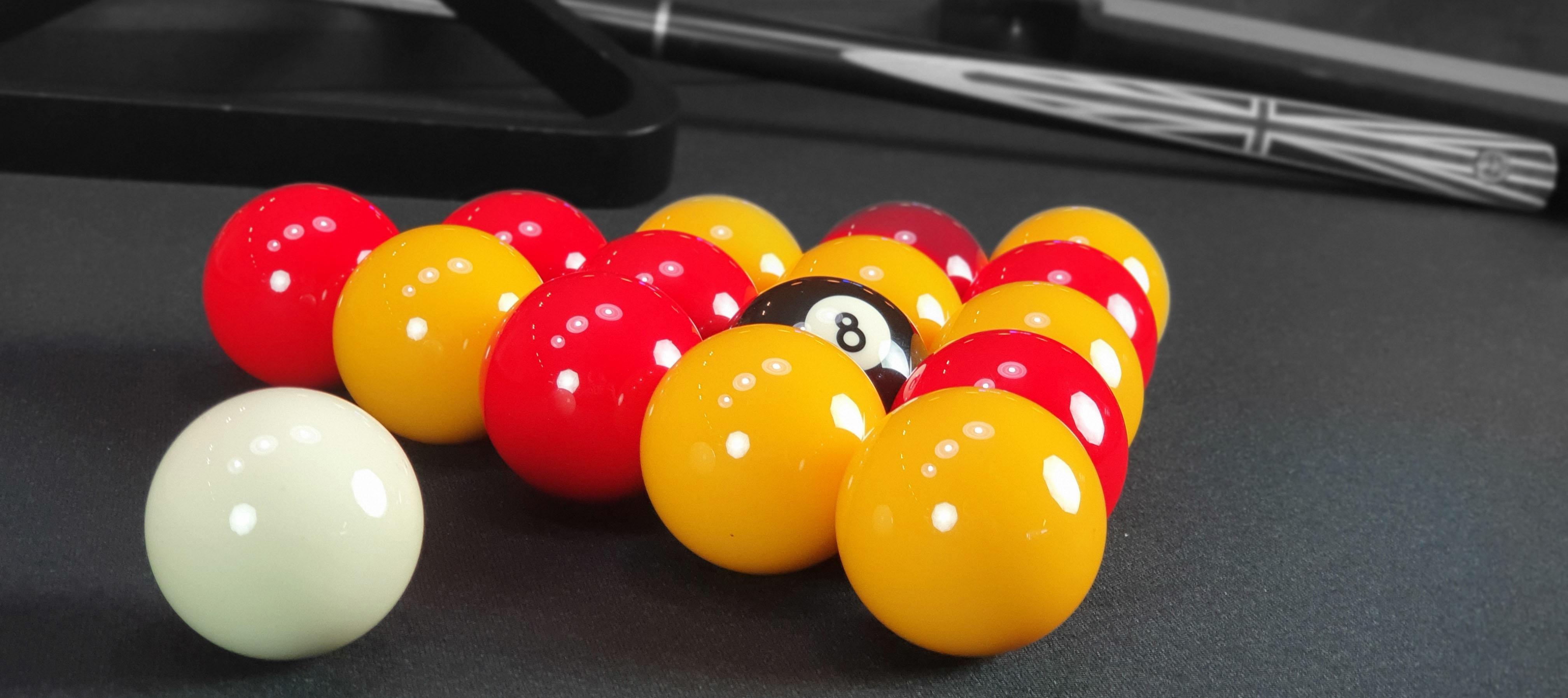 Boules de billard 8 pool