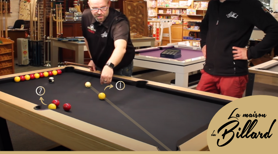 Technique billard Stop Shot