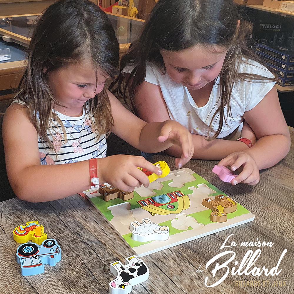Puzzle pour enfant en bois