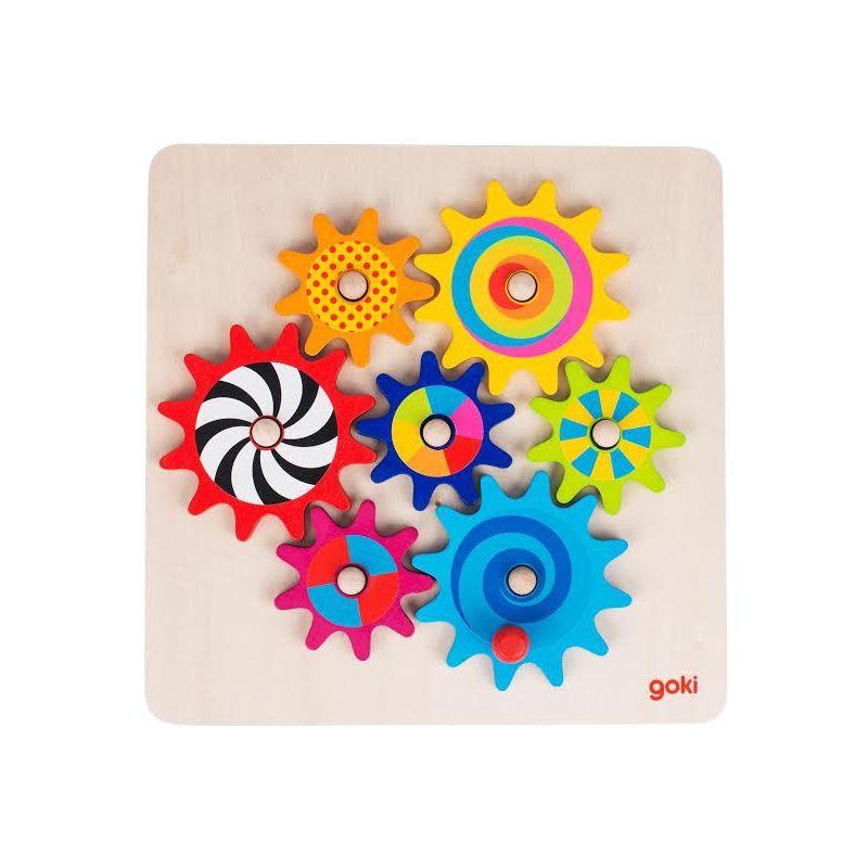 Puzzle engrenages pour les enfants