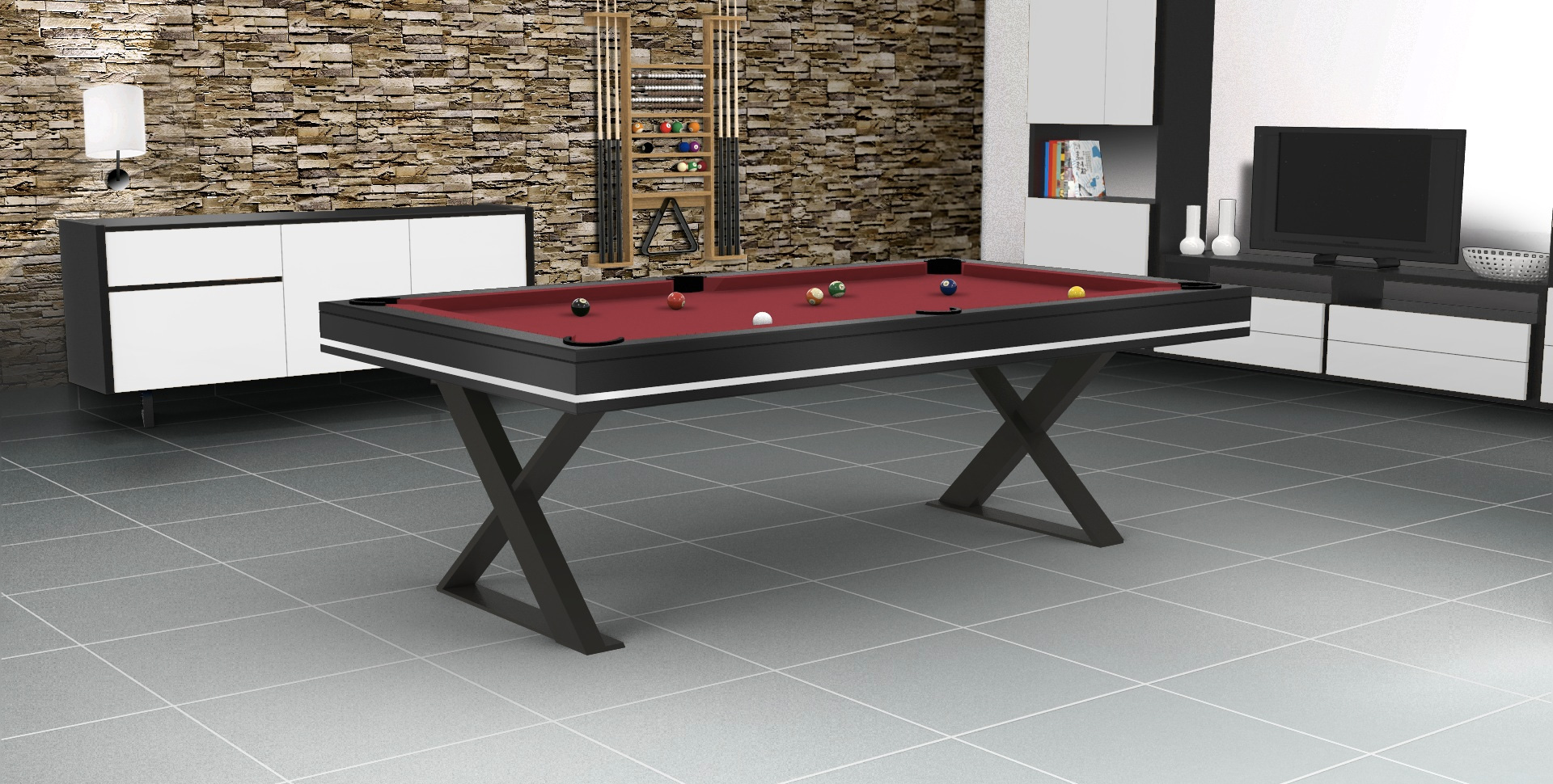 Table a manger billard design