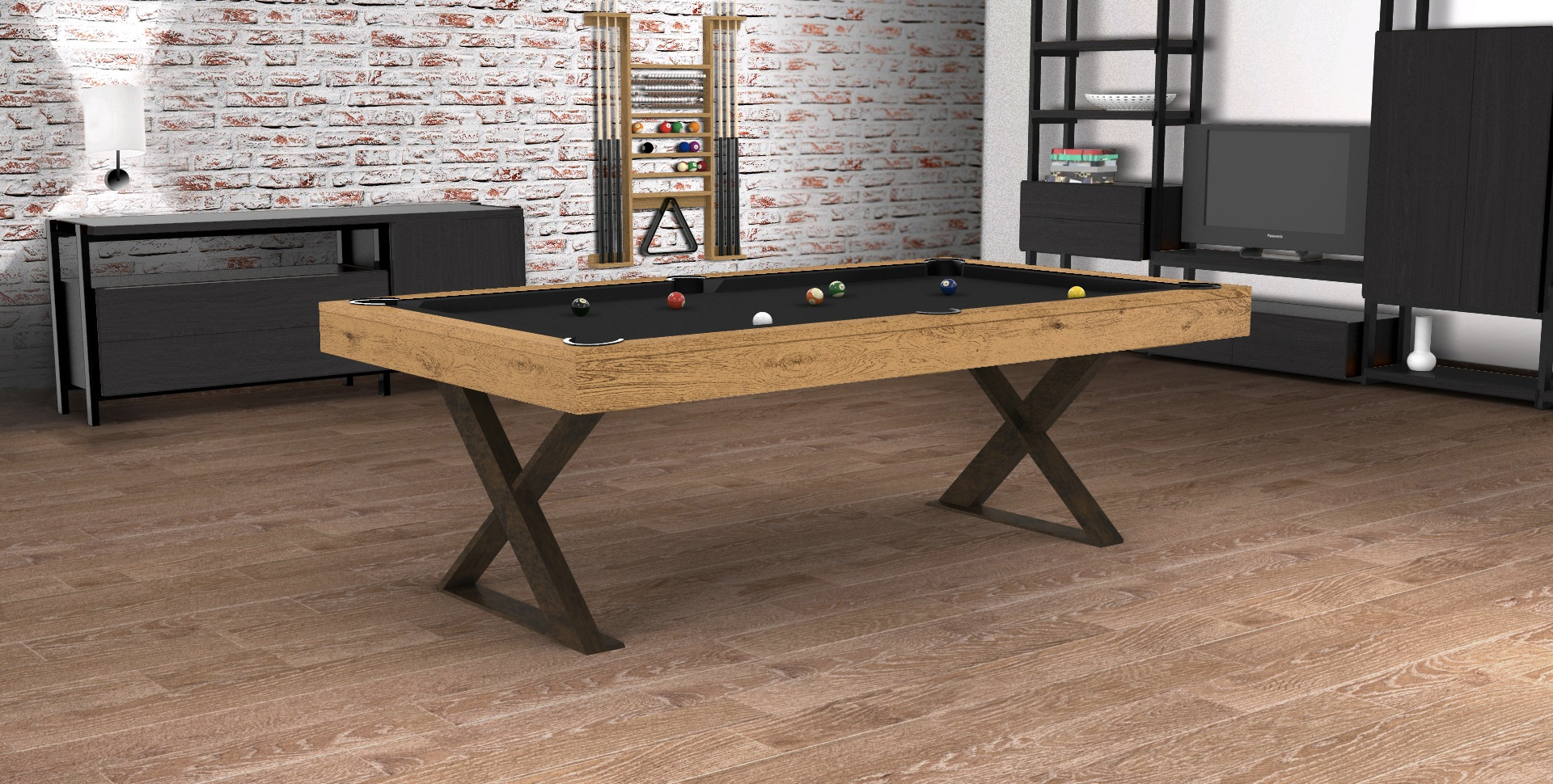 Billard Table Cross