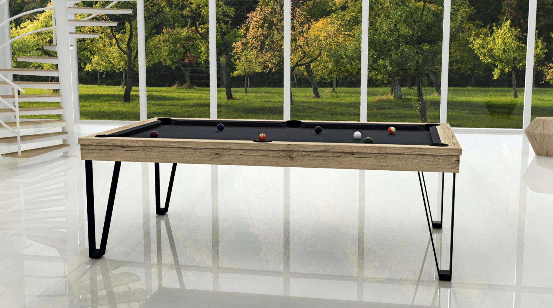 Billard convertible en table Light