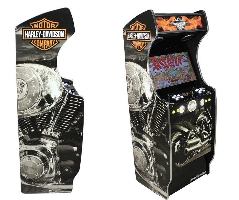 Jeux arcade Harley Davidson