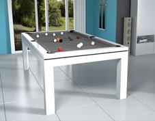Acheter un billard amovible transformable en table.