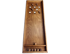 Fabricant de billard japonais artisanale, jouet en bois traditionnel fait à la main