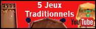 Vidéo découverte de 5 jeux traditionnels en bois