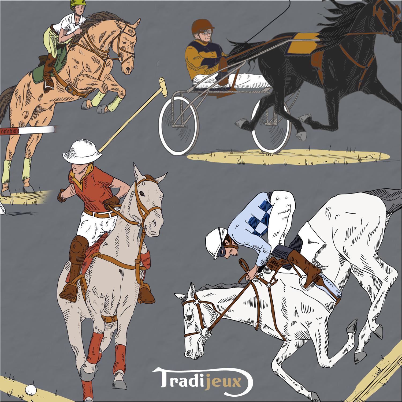 jeux Petit chevaux