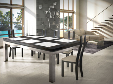 table de salle manger billard. Black Bedroom Furniture Sets. Home Design Ideas