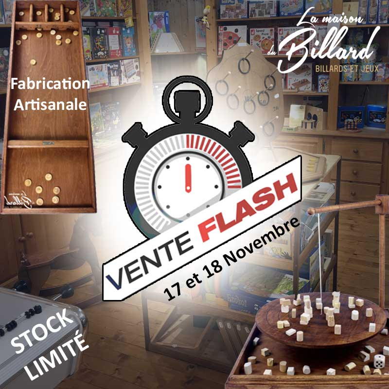 Vente flash ce week-End uniquement