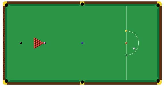 Les diff rents jeux de billard la maison du billard - Taille table snooker ...