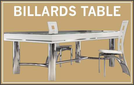 Découvrir des billards table pour particuliers