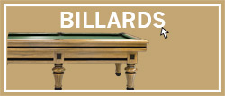 Billard traditionnels haut de gamme. Billard Américain, anglais ou snooker