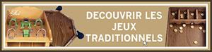 Jeux traditionnels Français Fabriqué en bois