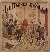 jeu d'anneaux de salon 1901
