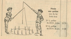 Jeux de pêche aux quilles 1903