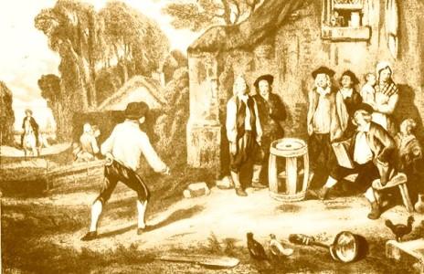 le Jeu de Tonneau au XVIIème siècle