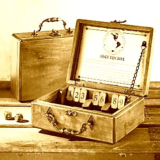 Shut the box vintage