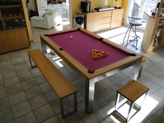 billard Steel Tendance