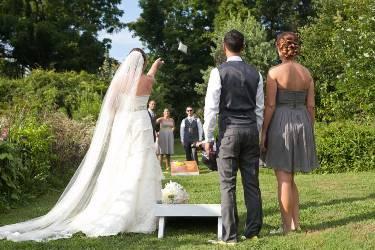 cornole - jeu mariage